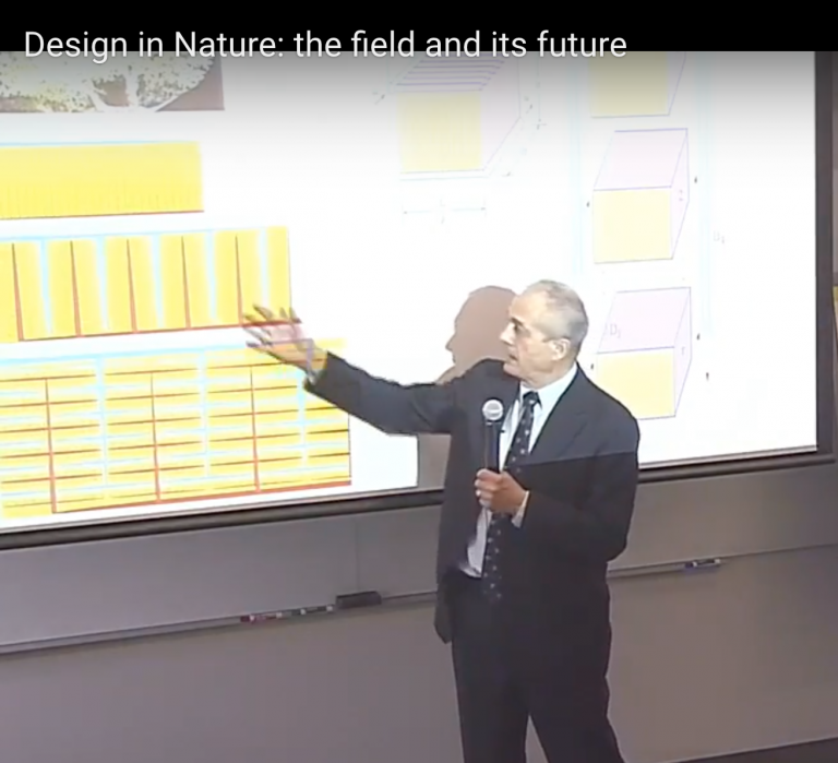 Design in Nature: the field and its future